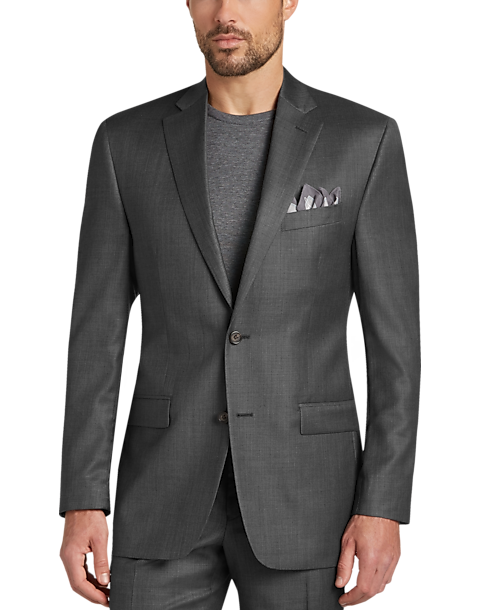 9dc17c9db Lauren by Ralph Lauren Gray Classic Fit 2-Piece Suit - Men s Suits ...