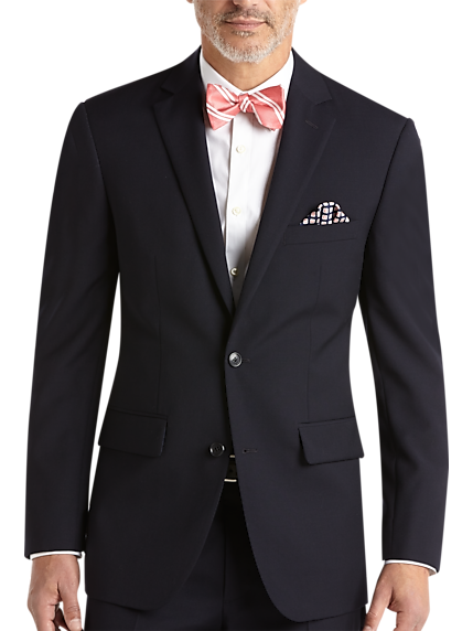 Pronto Uomo Navy Modern Fit Suit 4f0b9fec059