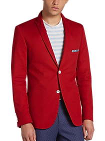 red sports coat mens wearhouse