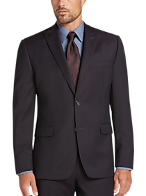 Calvin Klein Dark Wine Modern Fit Suit