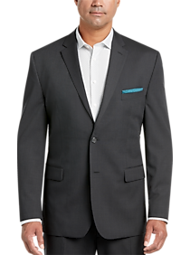 official store popular design many fashionable Pronto Uomo Charcoal Stripe Executive Fit Suit