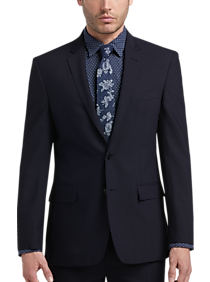 d47c5df2 Mens Suits, Clearance - JOE Joseph Abboud Blue Tic Slim Fit Suit - Men's  Wearhouse