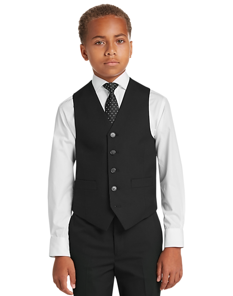 f1ad3d163 Joseph Abboud Boys Black Suit Separates Vest - Men s Boys Suits ...