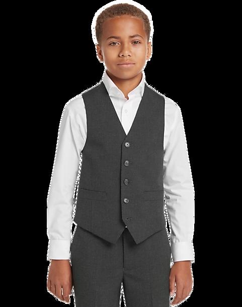 Boys Blazer Jacket 2 Button Youth Navy Blue Size 16 Formal Event Uniform NEW