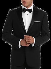 cabdfb977 Mens Tuxedos & Formalwear, Clothing - Pronto Uomo Black Modern Fit Tuxedo -  Men's Wearhouse
