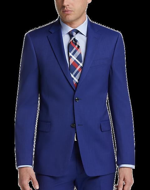 6fa211839 Tommy Hilfiger Blue Stripe Slim Fit Suit - Men's Suits   Men's Wearhouse