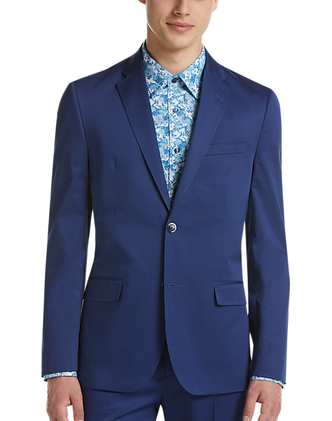 Ben Sherman Postman Blue Extreme Slim Fit Suit - Men's Suits | Men's  Wearhouse