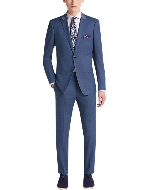 Gray Blue Suit SuSD
