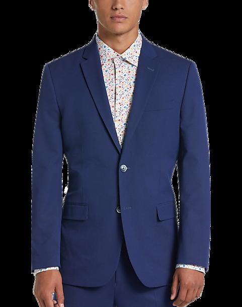f065c00d5be31 Ben Sherman Blue Extreme Slim Fit Suit - Men s Suits