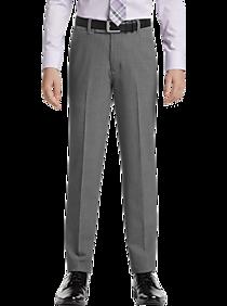 d2bfe612 Mens Boys Pants, Pants - Calvin Klein Boys Suit Separates Pants, Gray -  Men's