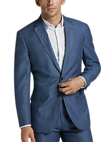 online here variety design up-to-date styling JOE Joseph Abboud Indigo Chambray Slim Fit Suit