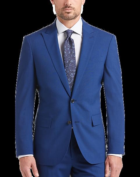 Bright Blue Suit qh7l