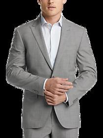 7cb6c0478c Mens Suits, Big & Tall - JOE Joseph Abboud Brrr° Gray Tic Slim Fit
