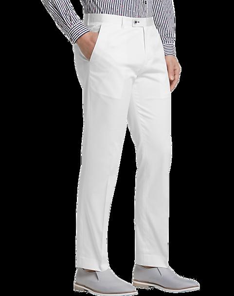 0566fba9c0d4 Paisley & Gray Slim Fit Suit Separates Pants, White - Men's Suits ...