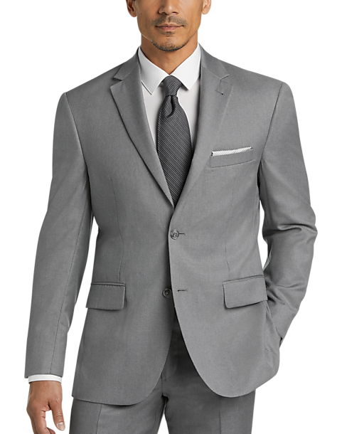 100% satisfaction great fit complimentary shipping JOE Joseph Abboud Light Gray Modern Fit Suit