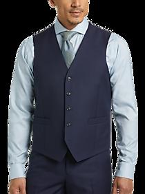 81403af8a728 Mens Portly, Suits - JOE Joseph Abboud Blue Suit Separates Vest, Executive  Fit -