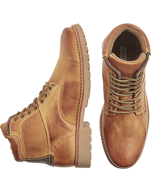 895147d6ba6 Steve Madden Cedar Tan Ankle Boots - Men's Shoes | Men's Wearhouse