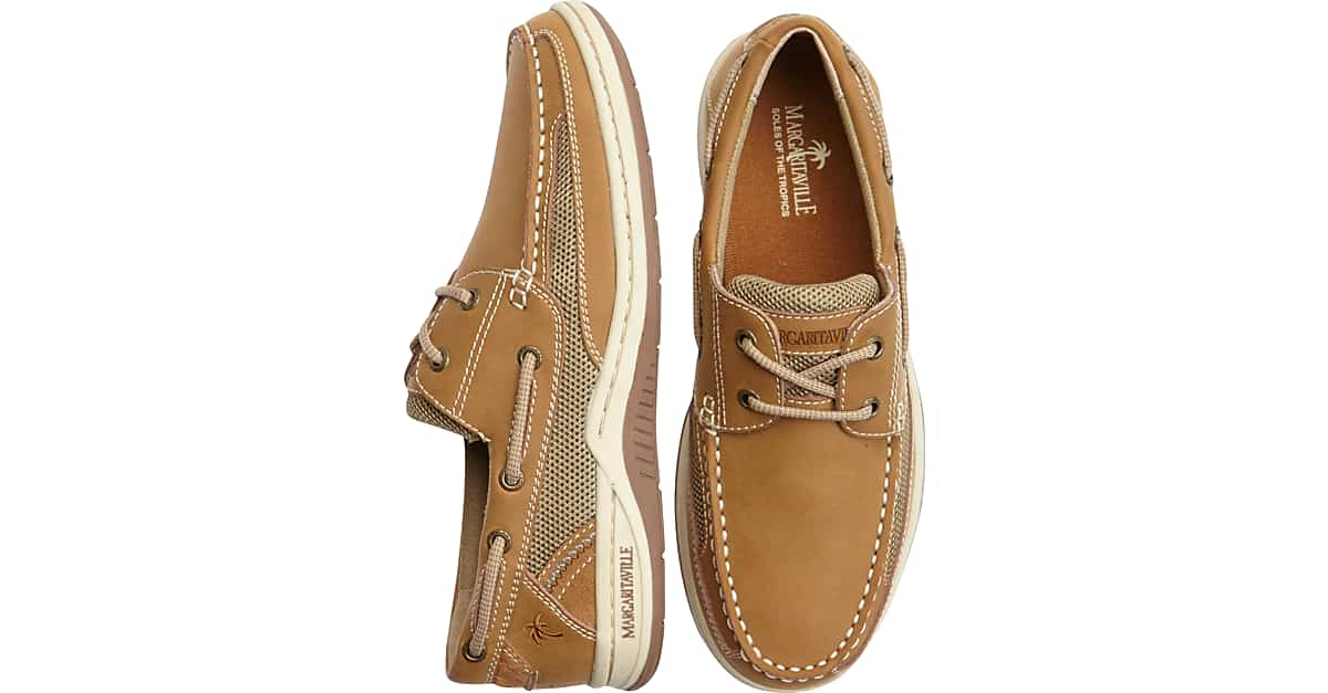 Margaritaville Anchor Lace Mens Boat Shoes