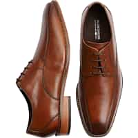 Deals on Florsheim Francello Tan Bike-Toe Dress Shoes