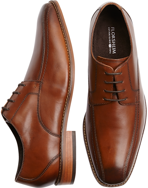 Florsheim Francello Tan Bike-Toe Dress Shoes - Mens Dress Shoes, Shoes -  Men's