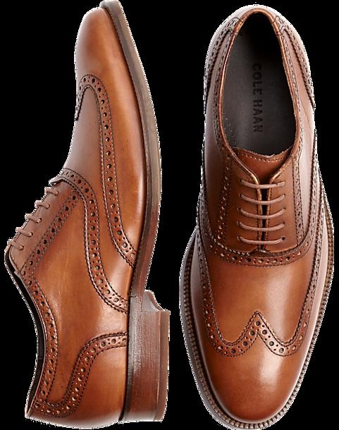 5e3986202288 Brown Wingtip Shoes - Men's Dress Shoes - Cole Haan   Men's Wearhouse