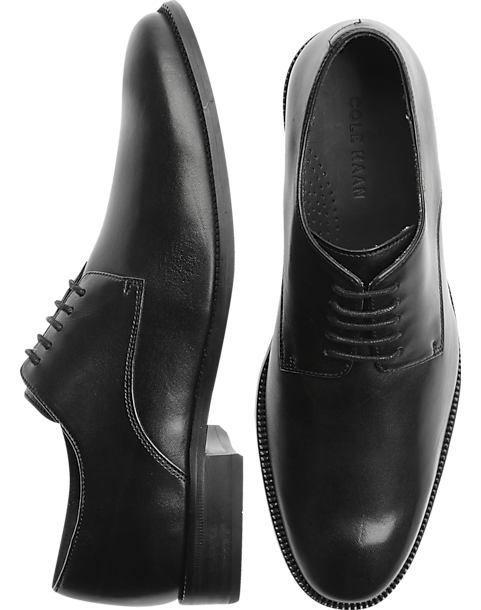 Cole Haan Williams Black Plain Toe Oxford Shoes by Cole Haan