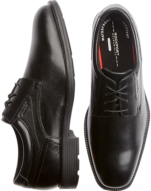 Rockport Future Black Oxford Dress Shoes - Mens Dress Shoes, Shoes - Men's  Wearhouse