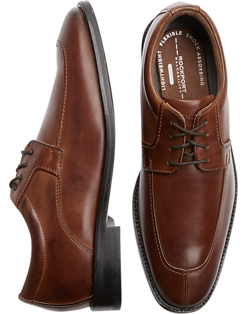 Rockport Smart Cover Brown Dress Shoes