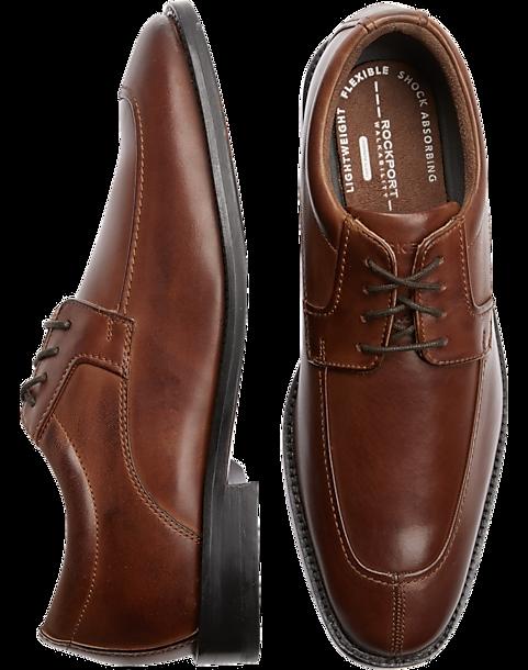 bb7762fd5a69 Rockport Smart Cover Brown Dress Shoes - Men s Shoes