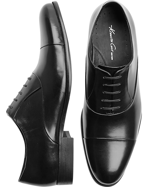 Kenneth Cole Command Chief Black Dress Shoe Mens Mens Wearhouse