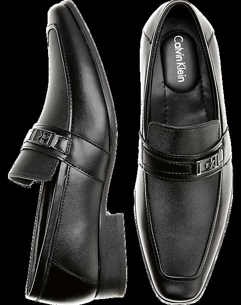 dba28e596cf Calvin Klein Bartley Black Loafers - Men s Shoes