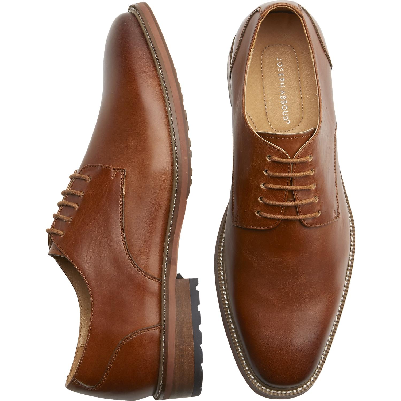 Mens Shoes - Joseph Abboud Tan Plain Toe Oxfords - Menu0027s Wearhouse & Menu0027s Shoes Dress Shoes u0026 Boots | Menu0027s Wearhouse