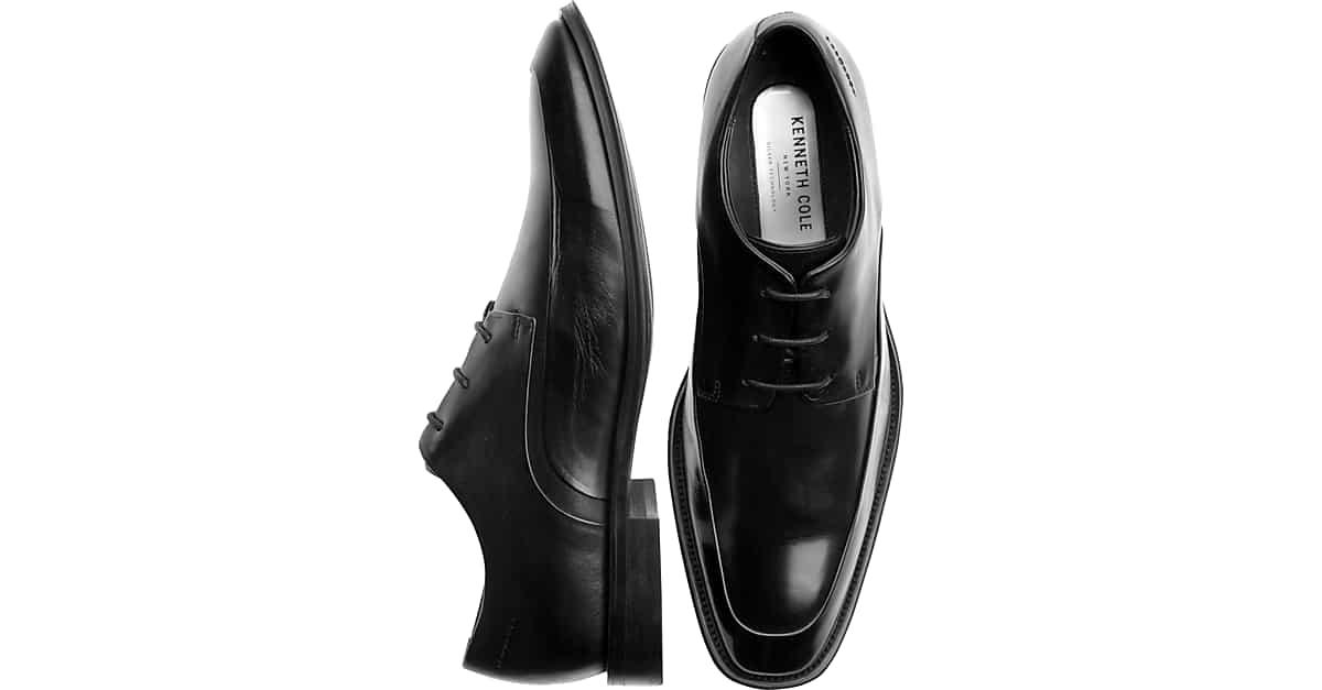 9bd55e426697 Kenneth Cole Shore-Footed Black Dress Shoes - Men s Shoes
