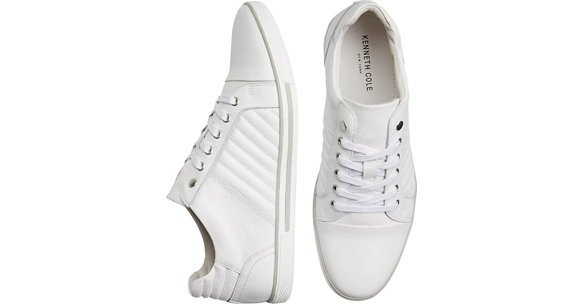 cheap for discount ec38c 4b561 Kenneth Cole Cool Down White Sneakers - Men s Shoes   Men s Wearhouse