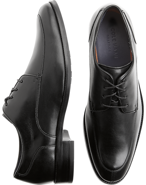 54391b4389 Cole Haan Lenox Black Oxford - Mens Clothing - Men s Wearhouse