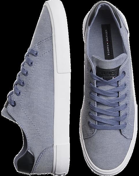 855ceee9641f Tommy Hilfiger Light Blue Tennis Shoes - Men s Shoes