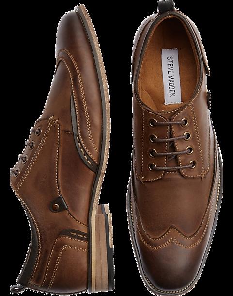 1ba6d20a187 Steve Madden Jahonis Tan Wingtips - Men s Shoes