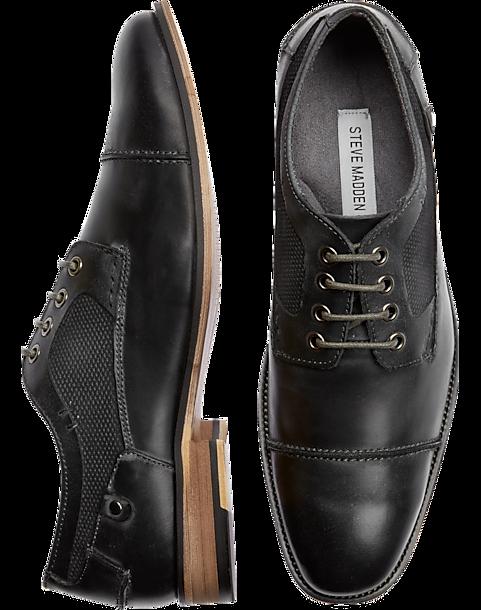 734934ad58db Steve Madden Jaceon Dark Gray Cap Toes - Men s Shoes