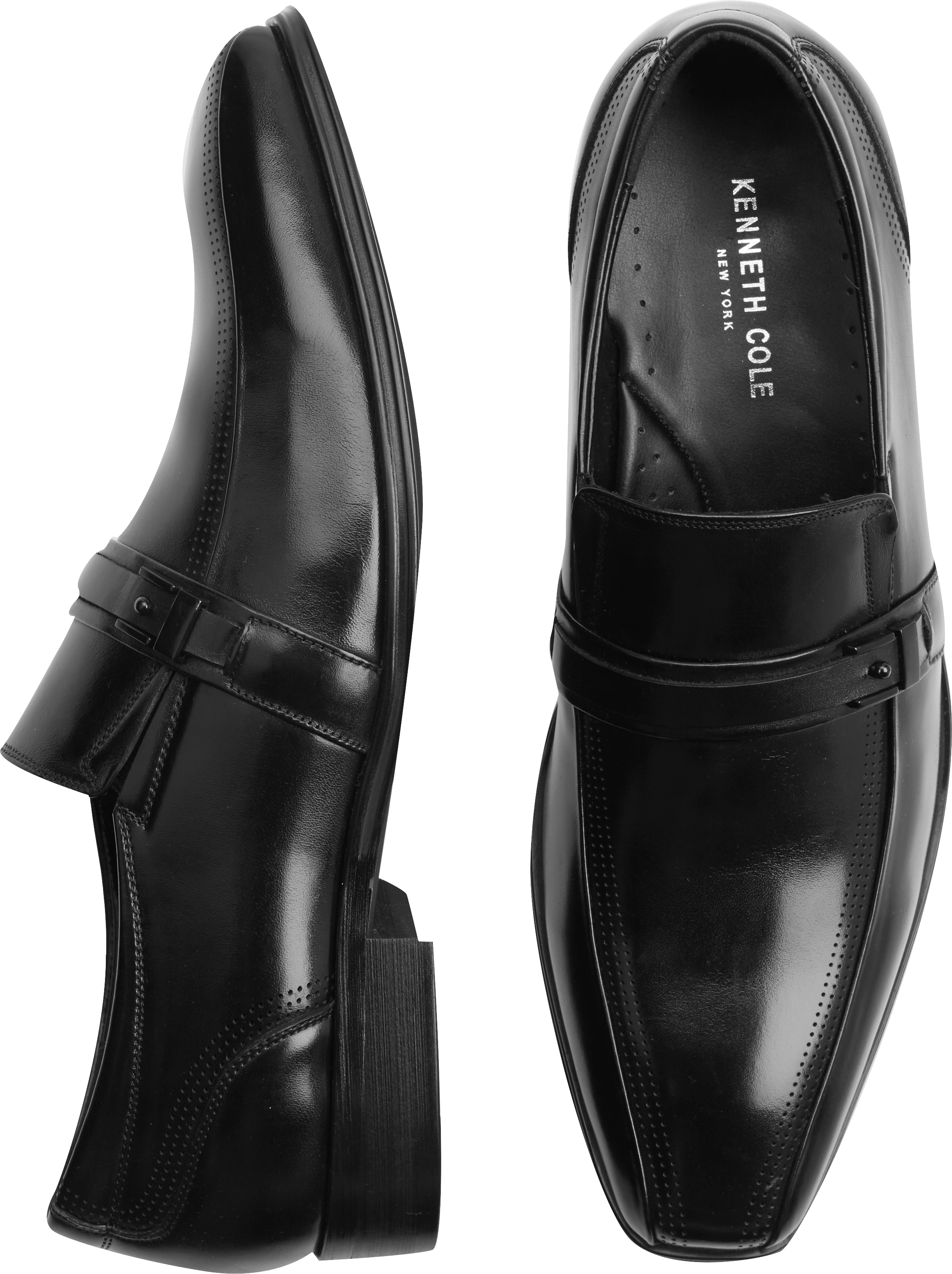 Kenneth Cole New York Mens Leave A Message MonkStrap Loafers  A2FXTFIWY
