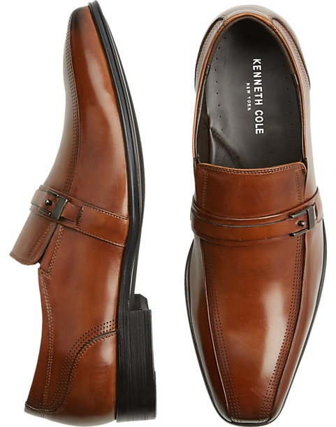 Kenneth Cole New York Shoes Cognac