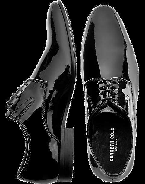 b5f3026df2980 Kenneth Cole Mix-Er Black Patent Oxford Dress Shoes