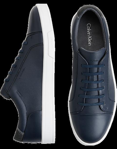 f20c25a867c Calvin Klein Barrington Navy Sneakers - Men s Shoes