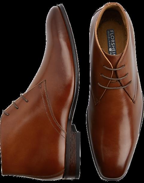 b2dfd579590 Florsheim Francisco Cognac Chukka Boots - Men's Shoes   Men's Wearhouse