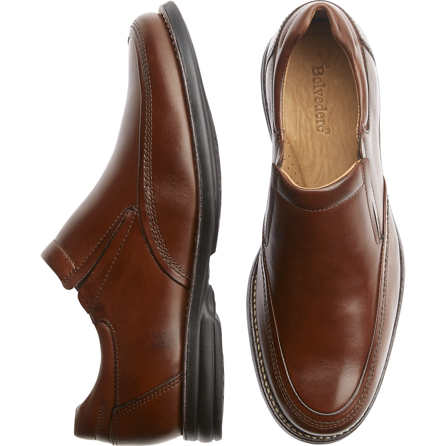 Dillards Brown Mens Dress Shoes