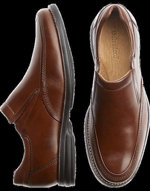 Belvedere Tan Torino Slip On Dress Shoes Men S Size 14 Dress Shoes