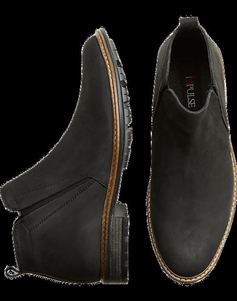 best loved 28487 8b18b Impulse Harbor Black Chelsea Boot - Mens Boots, Shoes - Men s Wearhouse