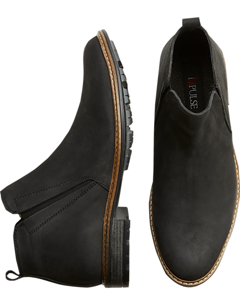 215439162 Impulse Harbor Black Chelsea Boot