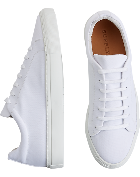 1fd1cc9bb29 Supply Lab Dylan White Sneakers - Men's Shoes | Men's Wearhouse