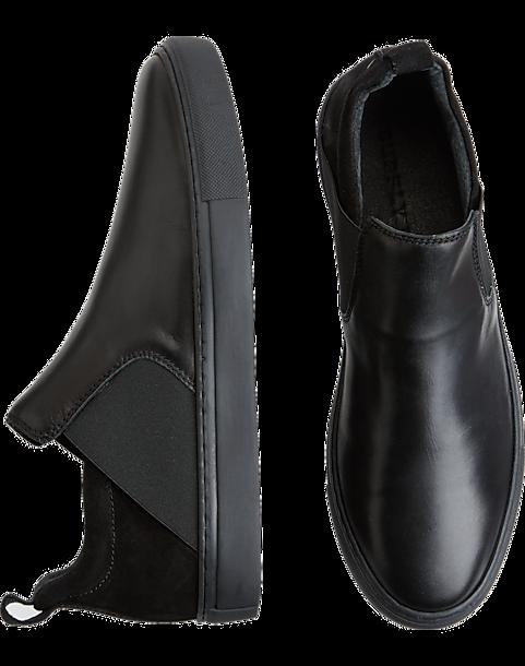 Supply Lab Lance Black Slip-On Sneakers - Men s  6bf95c8cea71