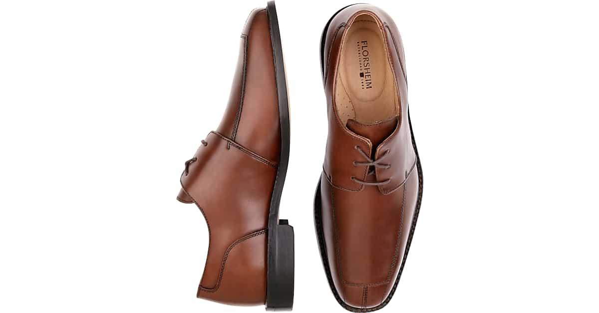 Cognac Shoes With Gray Pants - Style Guru Fashion Glitz Glamour Style unplugged